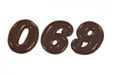 """Форма для шоколадных украшений """"Цифры"""""""