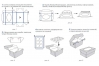 Коробка для капкейков с окном (на 12 шт), 330х250х h100 мм_