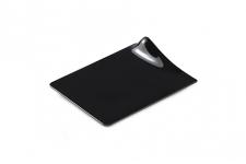Поднос квадратный черный, 105х90мм, пластик (40шт/уп.)