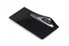 Поднос прямоугольный черный, 140х55мм, пластик (40шт/уп.)