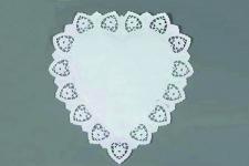 "Cалфетки ажурные ""Сердце"" 230х300мм, 100 шт./уп."