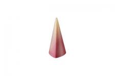 """Форма для конфет """"Пирамида высокая 3-угольная"""" 25х26 h55мм, 28 ячеек (поликарбонат)"""