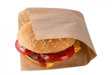 Уголок крафт для бургеров и сэндвичей, 140x145x30мм, 100шт/уп
