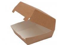 Упаковка для гамбургера 140x140 h70 мм, 1 шт