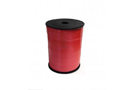 Лента декоративная (красная), 5 мм, намотка 500м