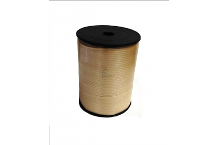 Лента декоративная (золотая), 5 мм, намотка 500м
