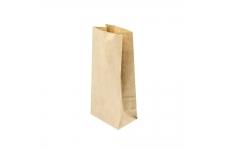 Пакет бумажный крафт без ручек, 120x80x250 мм