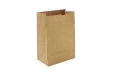 Пакет бумажный крафт без ручек, 220x120x290 мм