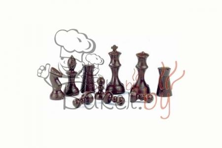 """Форма для шоколада """"Шахматы"""" 16 выемок (для 8-ми объёмных фигур)"""