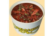Суп «Борщ с курицей» готовый, замороженный, 300 гр.