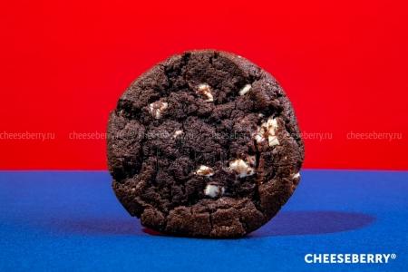 """Печенье """"Кукис шоколадный с белой шоколадной глазурью"""" 70г, (34 шт/уп)"""