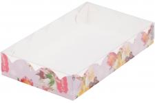 Коробка для пряников/печенья, С праздником!, 120х120х h30 мм