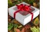 Коробка для зефира и печенья с окном, Белая, 200х200х h70 мм
