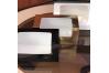 Коробка для кекса с окном, Золотая, 200х100х h100 мм