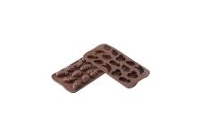 """форма для шоколадных конфет """"Фрукты"""" силиконовая"""