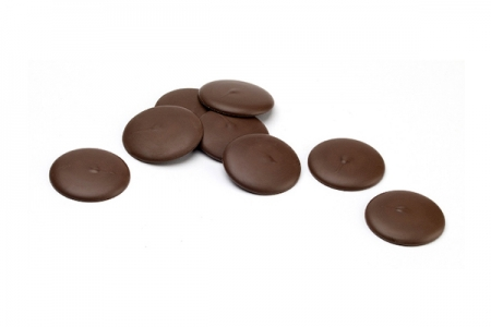 Шоколад-кувертюр молочный 35% «Айвори Коуст Чипс» 0,5 кг