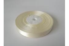 атласная лента сливочно-белого оттенка