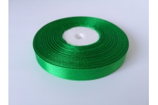 зеленая атласная лента