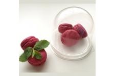 Упаковка для десерта с прозрачным дном (основание Ø90 х h80 мм)