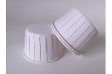 """Форма для выпечки """"Маффин усиленный"""", белый, Ø50 h40 мм, 100 шт/уп."""