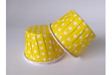 """Форма для выпечки """"Маффин усиленный"""", желтый в горох, Ø50 h40 мм, 100 шт/уп."""