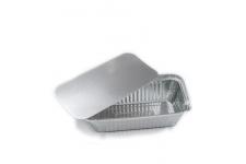 Крышка к форме для выпечки 161х96х50мм (901мл), 100 шт. (фольгированный картон)
