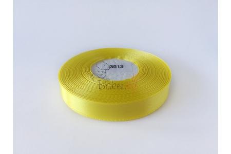желто-лимонная атласная лента