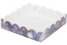 """Коробка для пряников/печенья """"Звездное небо"""", 155х155х h35 мм"""