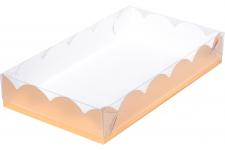 Коробка для пряников/печенья, (золотая), 220х150х h35 мм