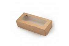 Коробка для пряников/печенья, крафт 170х70х h40 мм