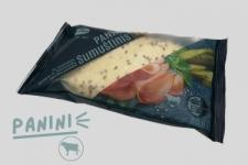 """Сэндвич """"Панини"""" с говяжьим окороком и соусом с маринованными огурцами  250 г"""
