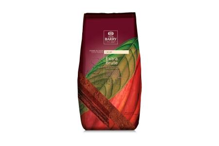 Какао-порошок алкализованный 22-24% Cacao Barry Extra Brutе, 1 кг