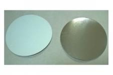Крышка к форме для выпечки Ø165 h40 мм, 50 шт. (фольгированный картон)