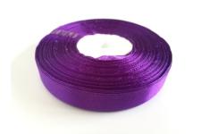 лента атласная темно-фиолетовая