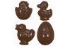 "Форма для шоколадных украшений ""Яйцо, Утенок, Цыплята"""