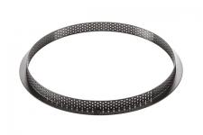 Кольцо для тарт перфорированное Ø250 h20 мм, термопластик