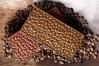 """Форма для шоколада """"Кофейные зерна (плитка)"""" 1 ячейка, (155х76хh8,5мм)"""
