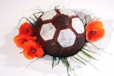 """Форма силиконовая """"Футбольный мяч"""", Ø180 h95 мм"""