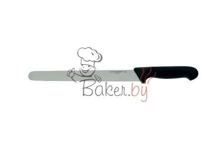 Нож пекарский с гладким лезвием, рабочая длина 260 мм