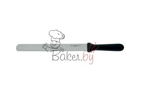 Нож пекарский с рифленым лезвием, рабочая длина 360 мм