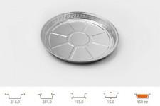 Форма для выпечки круглая Ø193 h15 мм, 225 шт.