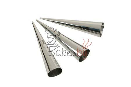 Конус для слоеных трубочек, Ø40х160 мм, 6шт/упак.