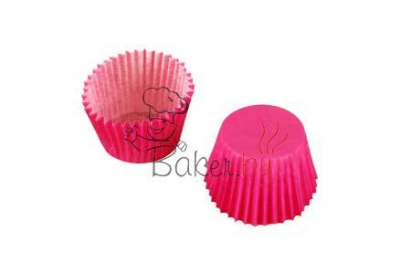 Форма для выпечки розовая Ø35 h27 мм, 1000 шт.