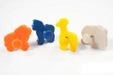 """Набор выемок """"Лев, лошадка, жираф, слон"""", 4 шт"""