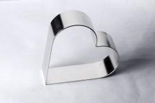 """Форма для торта """"Сердце"""", Ø260 h50 мм (283х255 мм)"""