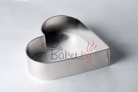 """Форма для торта """"Сердце"""", Ø240 h50 мм"""