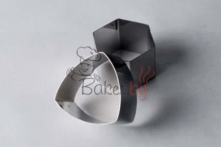 "Форма для десерта ""Треугольник"", сторона 70мм, h45 мм"