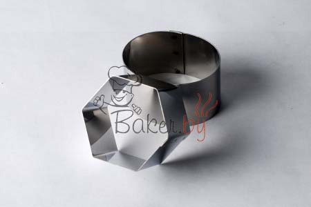 """Форма для десерта """"Шестиугольник"""", Ø70 h45 мм"""