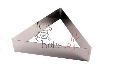 """Форма для торта """"Треугольник"""", 220х250 h50 мм"""