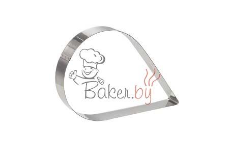 "Форма для торта ""Капля"", 153х97 h50 мм"